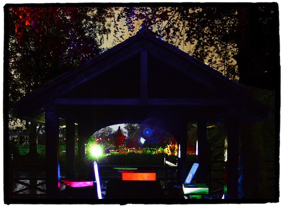 dusk boat house marlay park