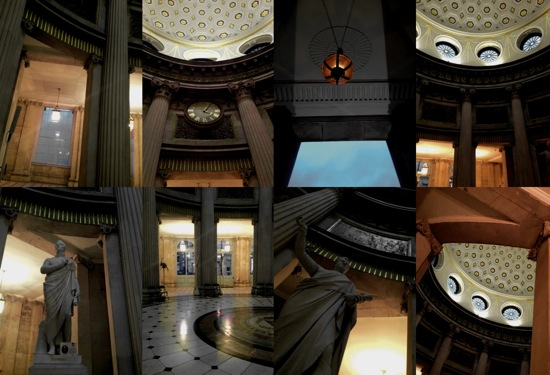 city hall interior montage